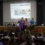 Presentación de la licenciatura a los grupos vespertino del Liceo n° 1 de Paysandú