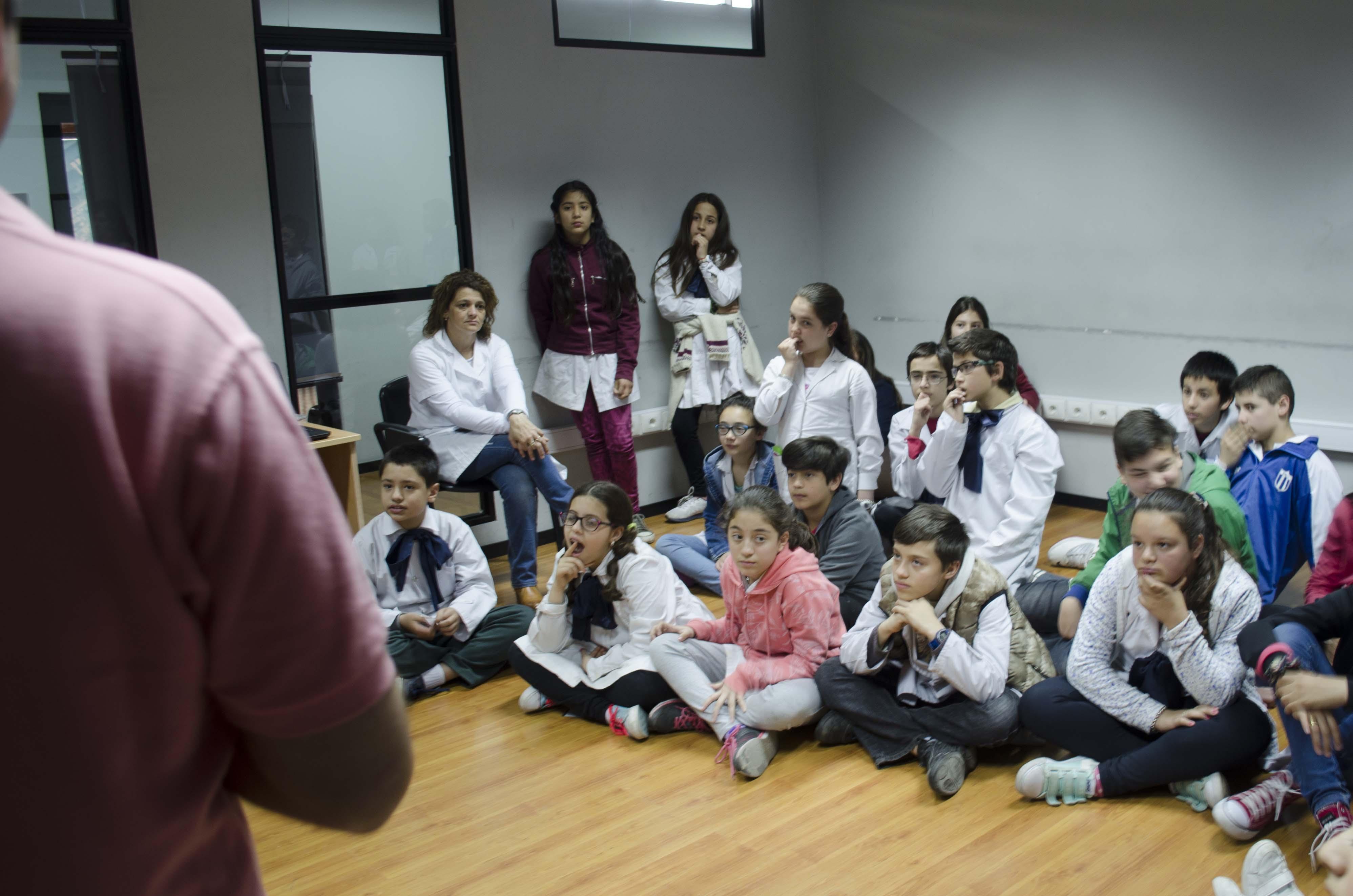 Alumnos de la Escuela N° 8