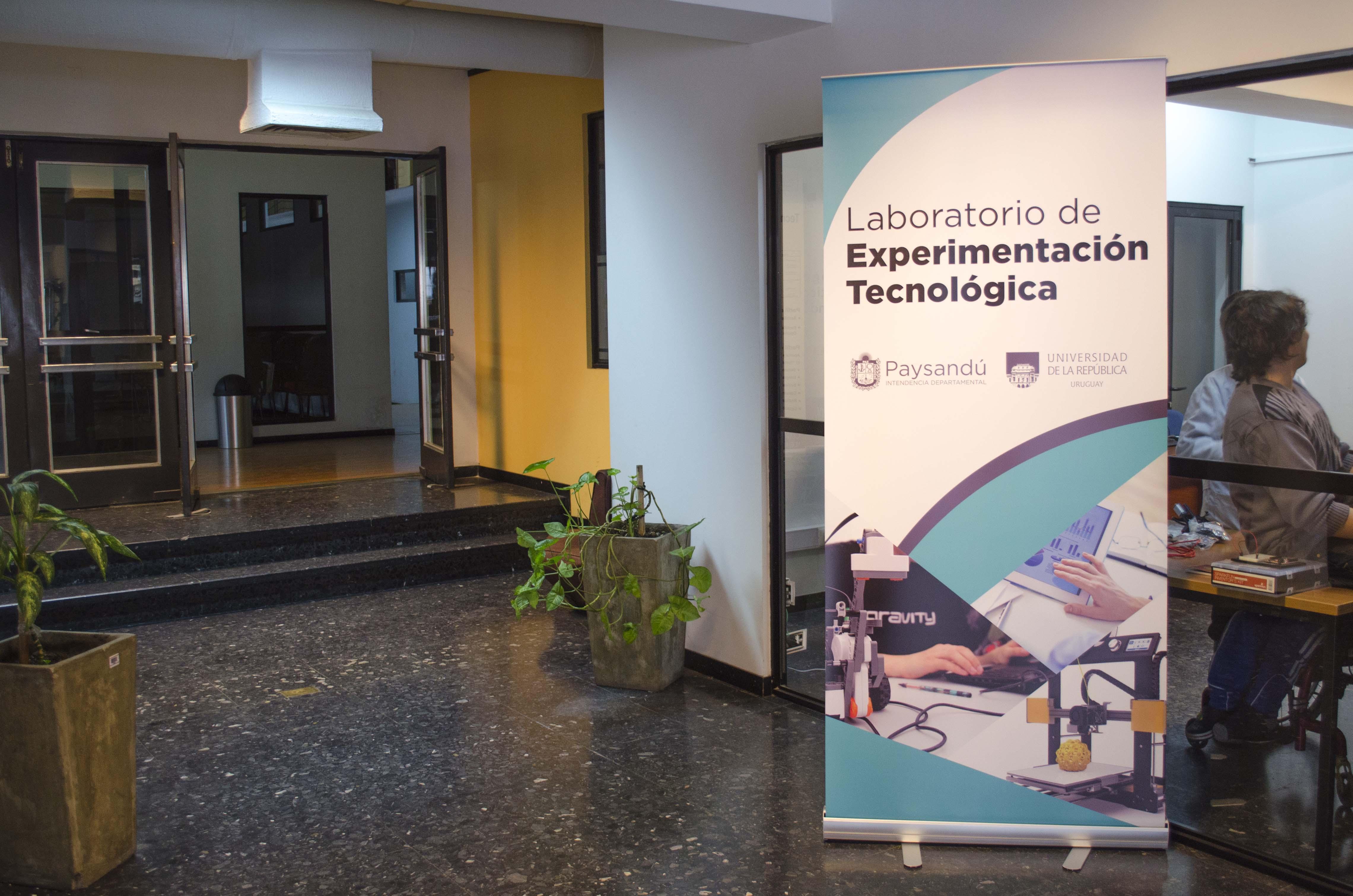 Laboratorio de Experimentación Tecnólogica, en Paysandú Innova