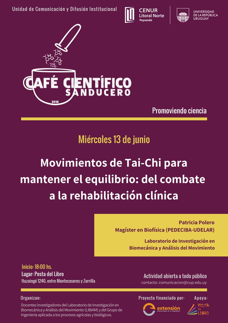 Café científico Charla 1