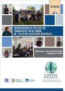 Publicación de pósters de Proyectos de fin de curso: Taller de Ingeniería Biológica 1- 2020